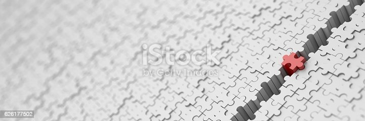 istock Leadership and teamwork conceptual background 626177502