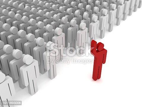 862670984 istock photo Leadership competitive advantage people 1011893006