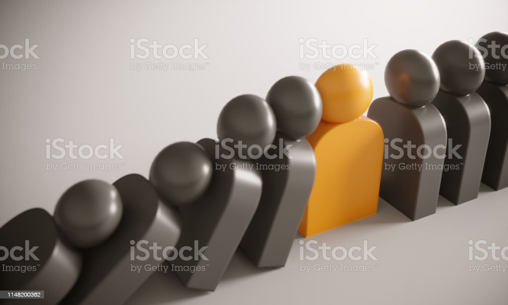 Leadership Concept With Domino Effect Stock Photo Download Image Now Istock