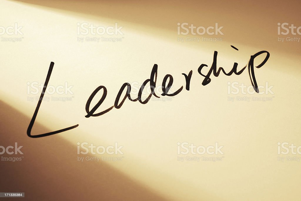 Leadership royalty-free stock photo