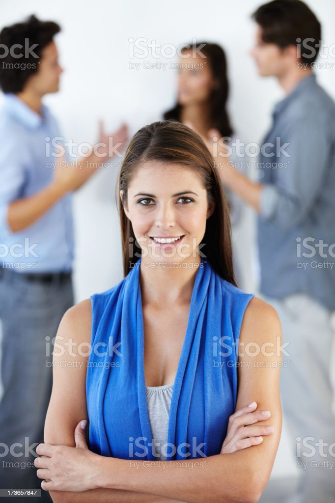 Leadership qualities: Revelling in the Business World royalty-free stock photo