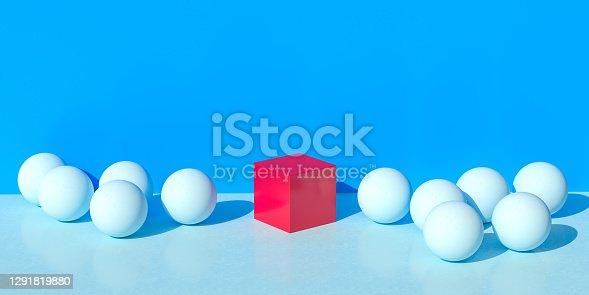 Leadership Square Shape Concept
