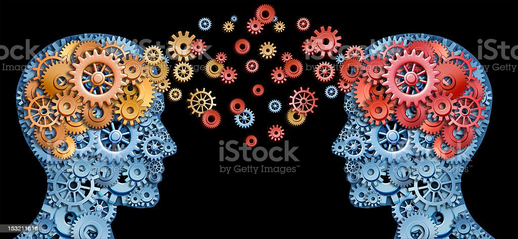Leadership with education royalty-free stock photo