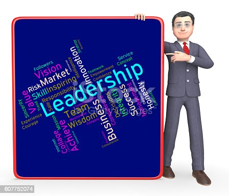 Leadership Words Meaning Influence Control And Led