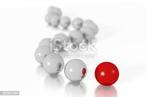 istock 3D leader concept 522622404