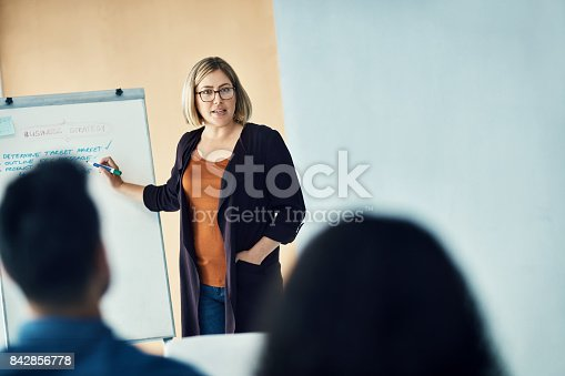 istock Leading her team to greatness 842856778