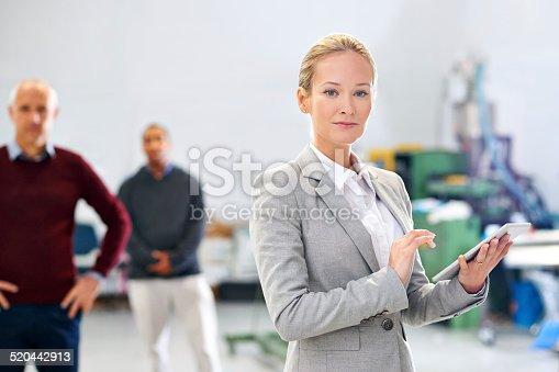 915900234istockphoto Leading my company's quality assurance 520442913
