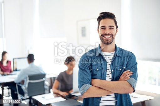 istock Leading the way in creative business 834161500