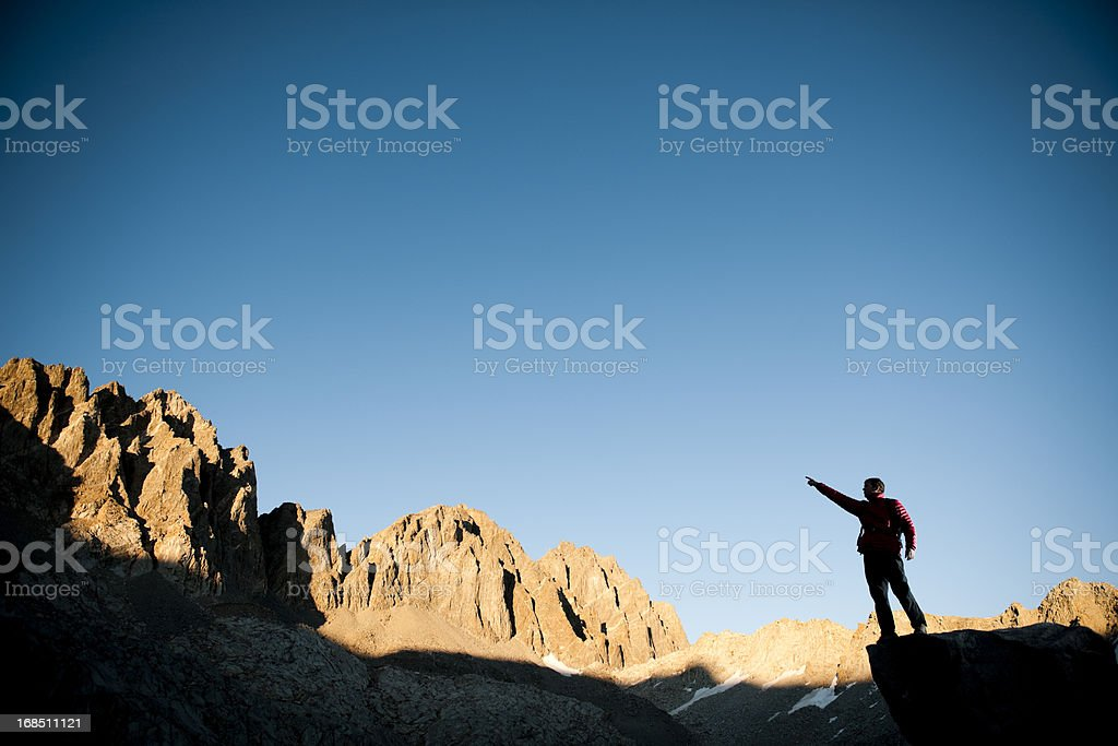 Leading the way royalty-free stock photo