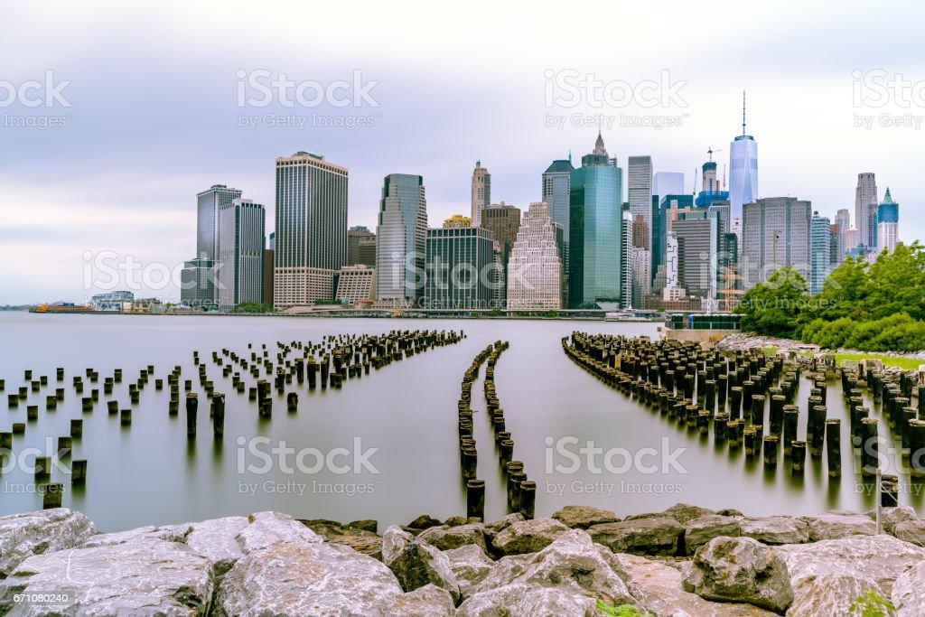 Leading to Manhattan stock photo