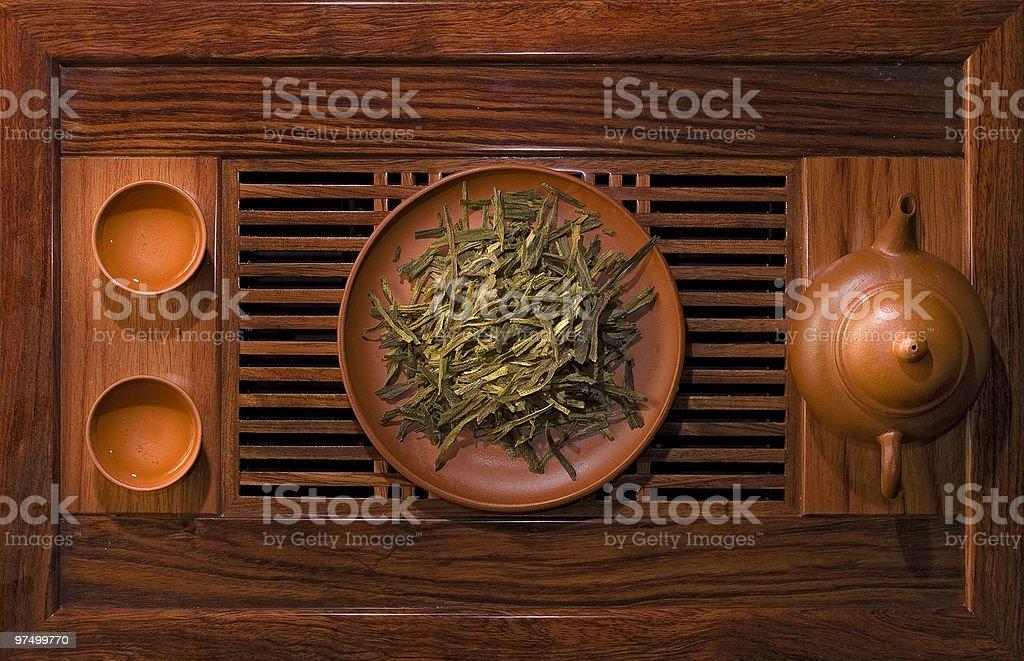 leaf green tea royalty-free stock photo