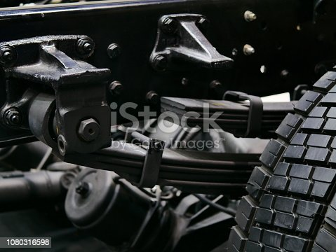 Coiled Spring, Pick-up Truck, Auto Racing, Garage, Machine Part