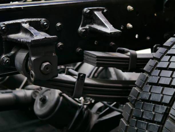 blattfeder-auto - pickup trucks stock-fotos und bilder