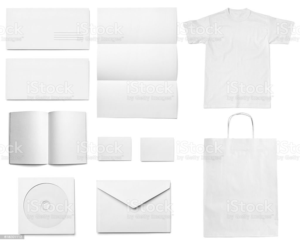 Leaflet letter business card white blank paper template stock bag box container coffee cup cup document leaflet letter business card white blank paper template magicingreecefo Images