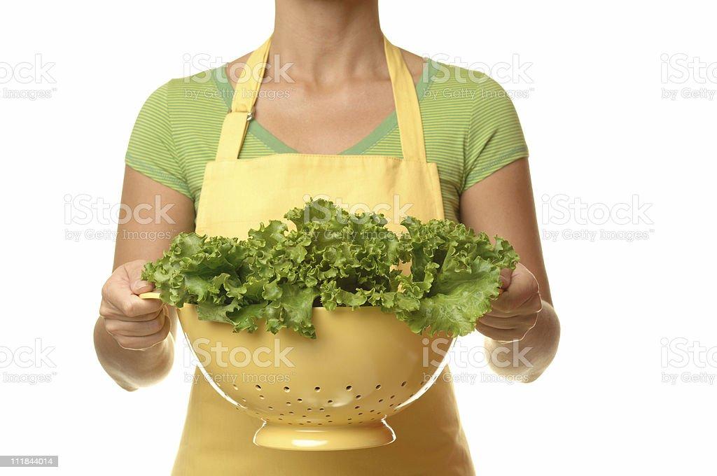 Leafy Lettuce royalty-free stock photo