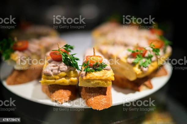 Leafy Tapas Barca Stock Photo - Download Image Now