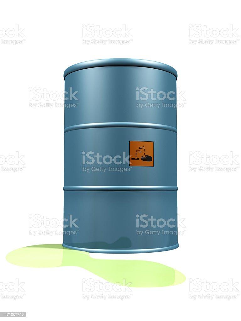 Leaking Corrosive royalty-free stock photo