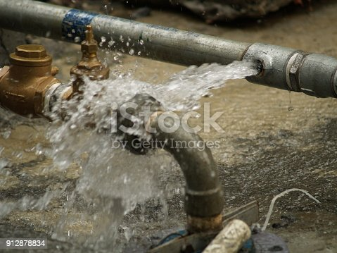 Broken/Leaking Water Pipe