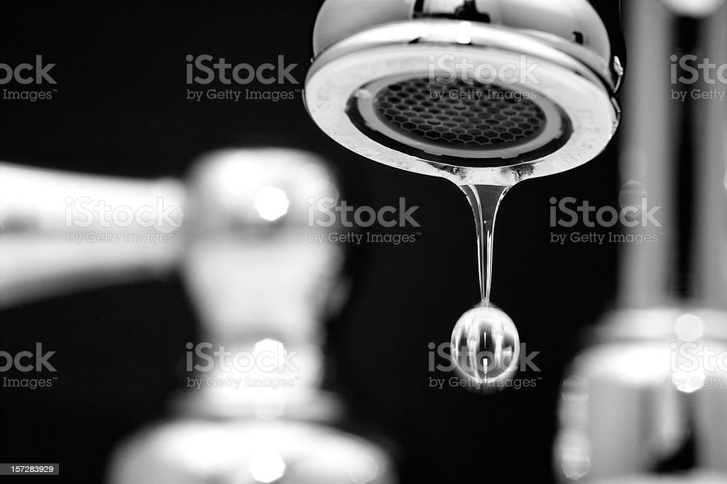 Leaky Faucet 3 of 4 royalty-free stock photo