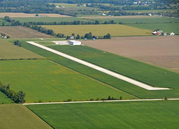 Leamington Flughafen Luftaufnahme – Foto