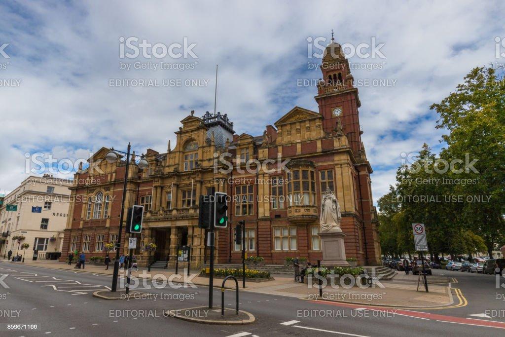 Leamington Town Hall stock photo