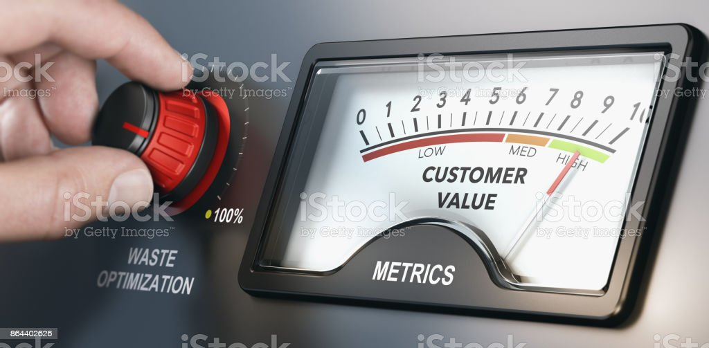 Lean Manufacturing Add Customer Value stock photo