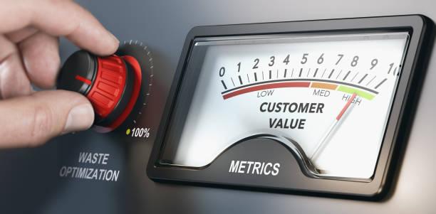 lean manufacturing mehrwert kunden - lehnend stock-fotos und bilder