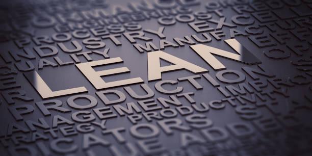 lean manufacturing, production improvement - appoggiarsi foto e immagini stock