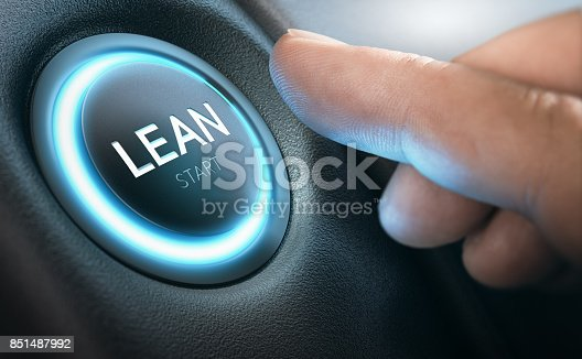 istock Lean Transformation and Management Concept 851487992