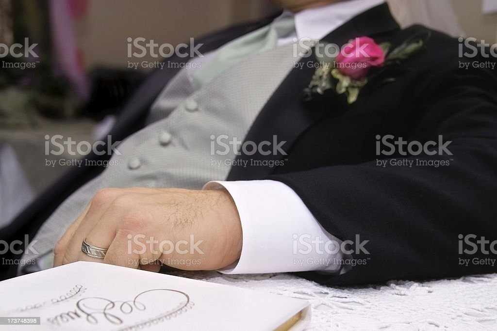 Leaning Back royalty-free stock photo