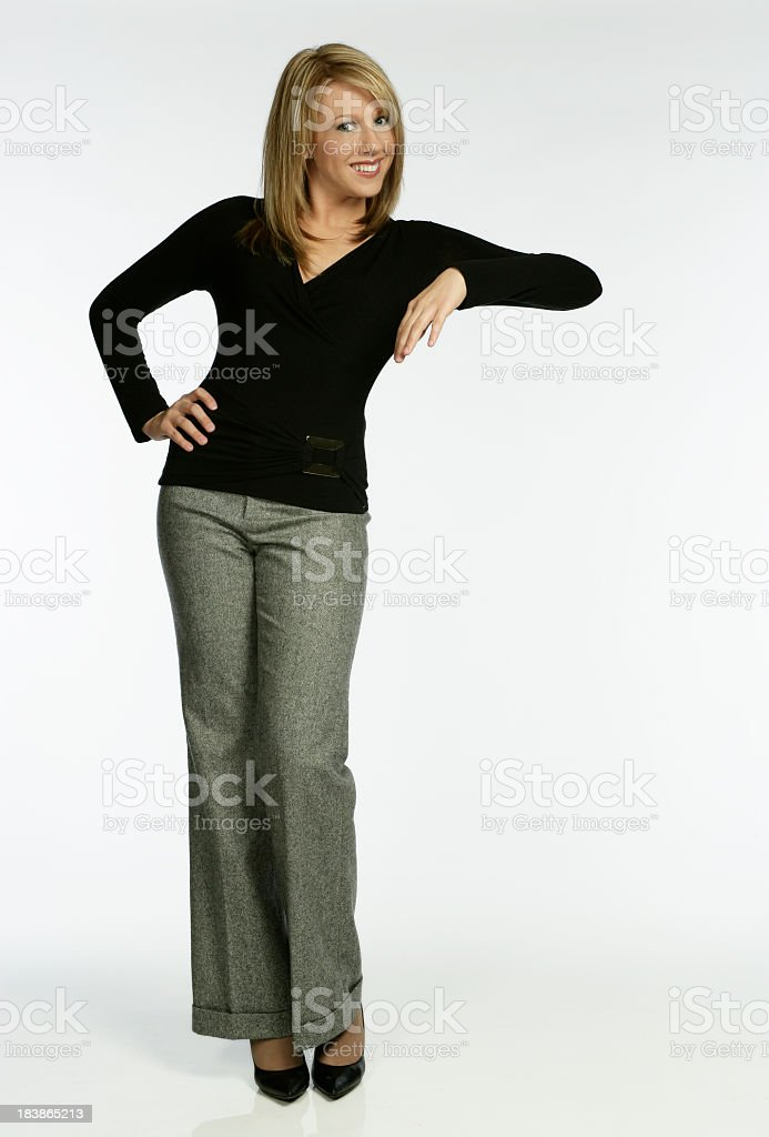 Leaning stock photo
