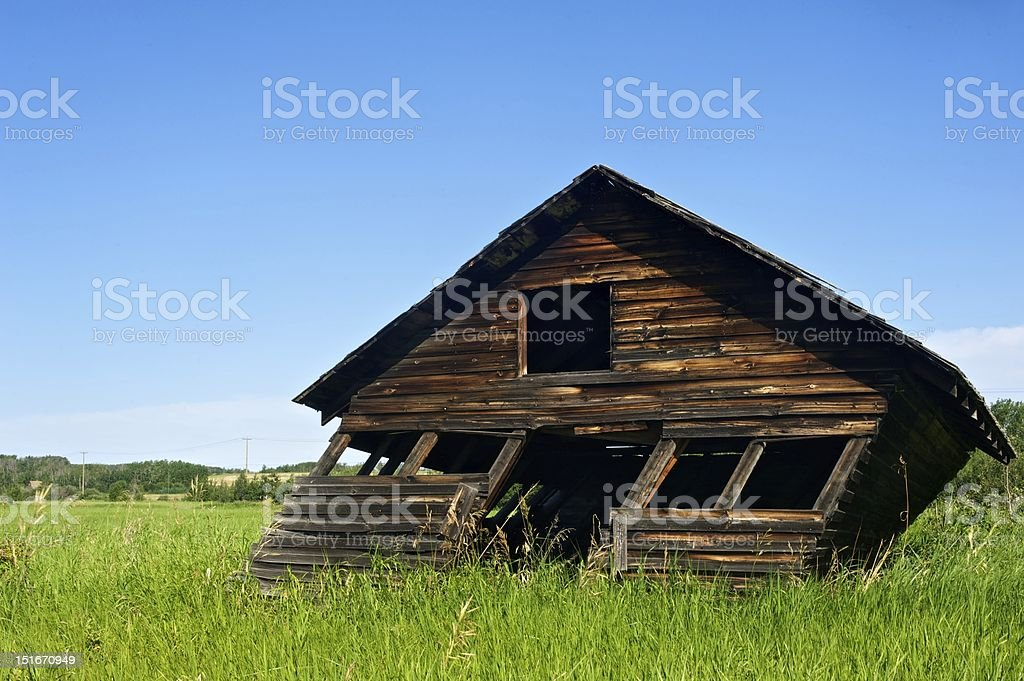 leaning shed stock photo more pictures of abandoned istock