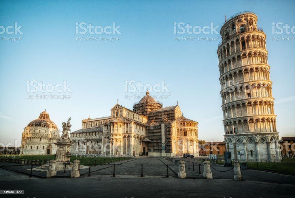 Schiefe Turm von Pisa in Pisa - Italien – Foto