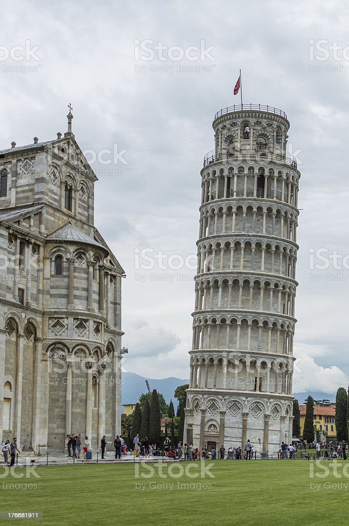 Leaning tower of Pisa - Italy royalty-free stock photo