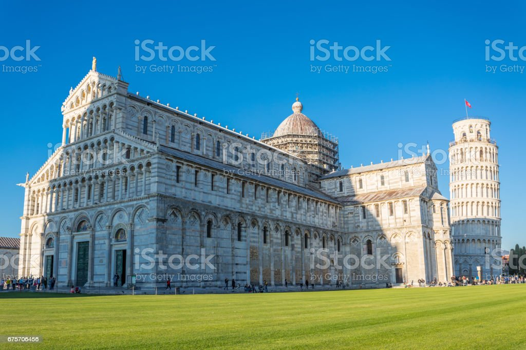 Leaning tower of Pisa 免版稅 stock photo