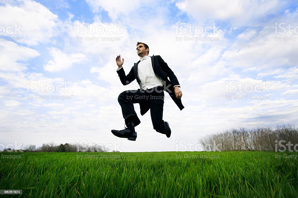 Leap of Faith royalty-free stock photo