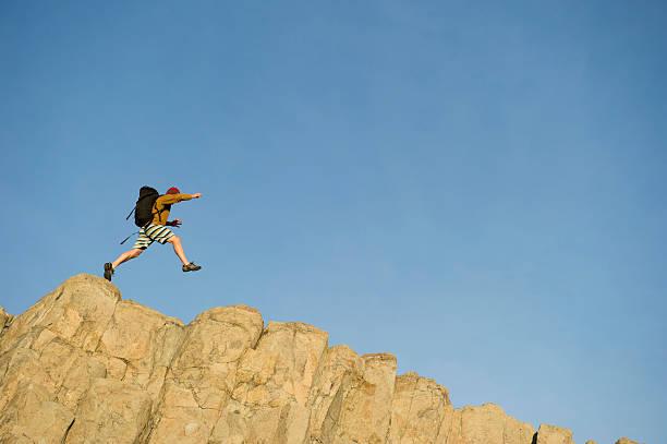 Leap stock photo