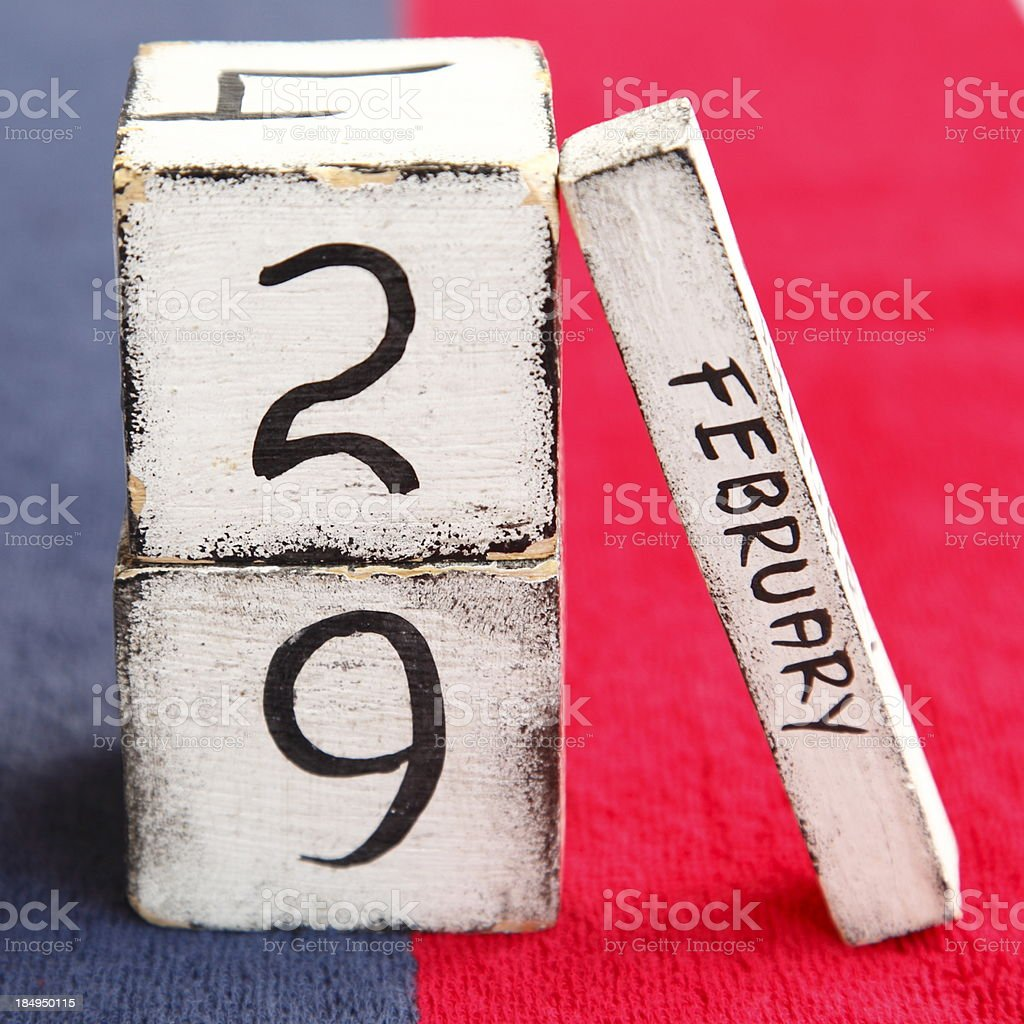 Leap Year royalty-free stock photo