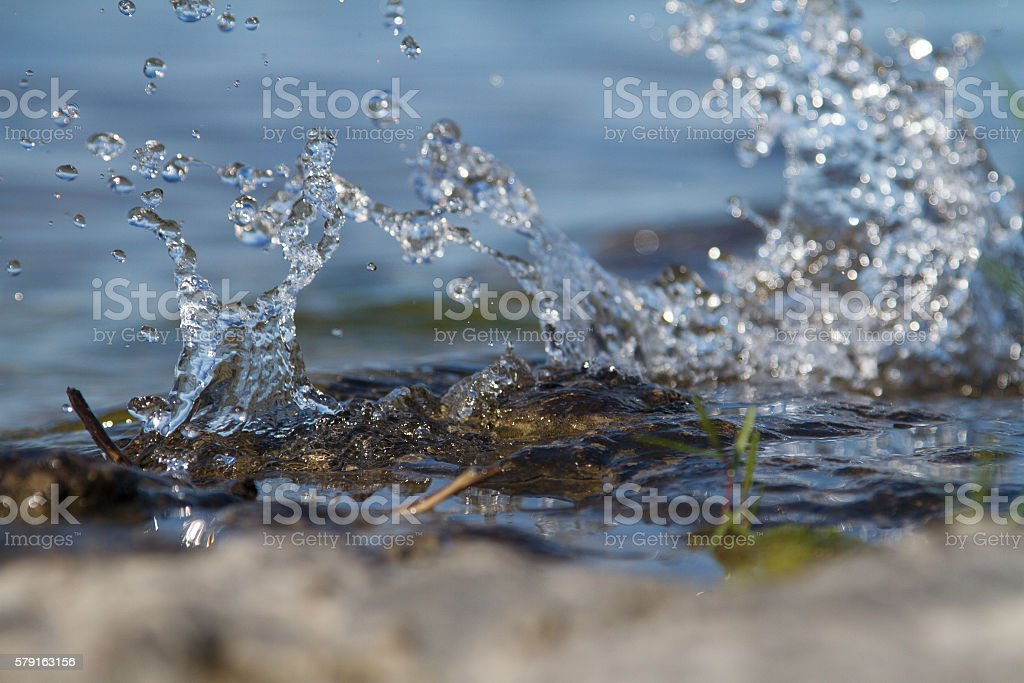Leaping Water stock photo
