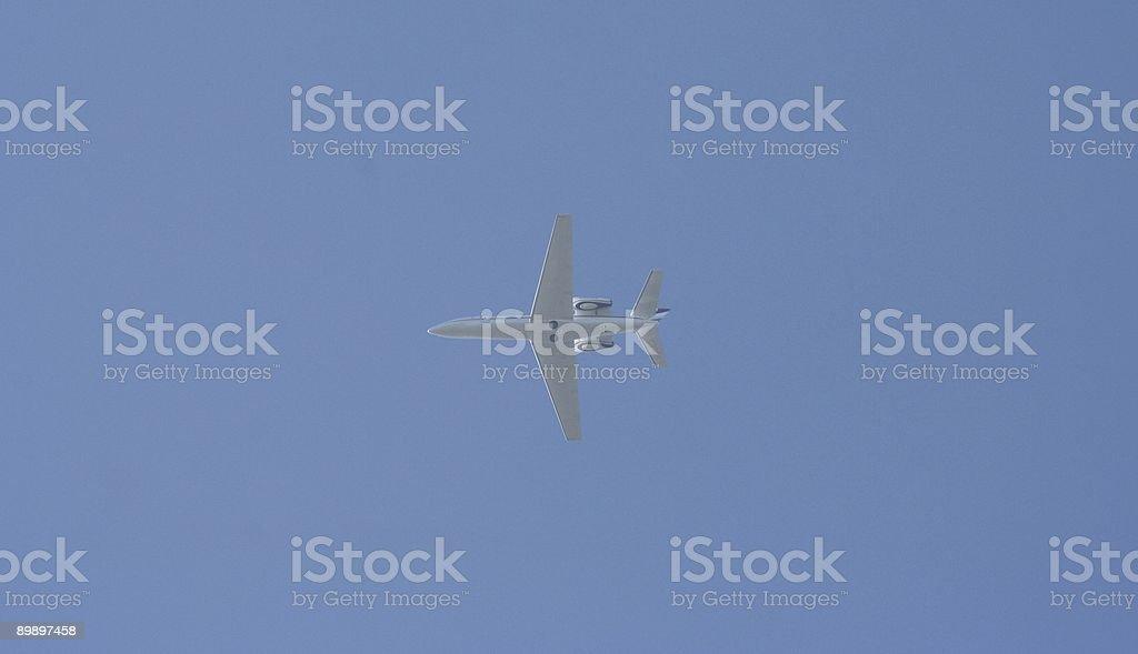 Lear Jet royalty-free stock photo