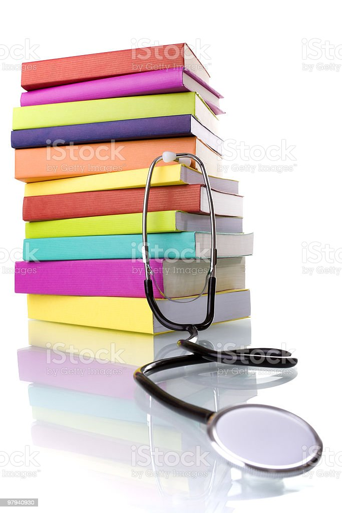 Learing Medicine royalty-free stock photo