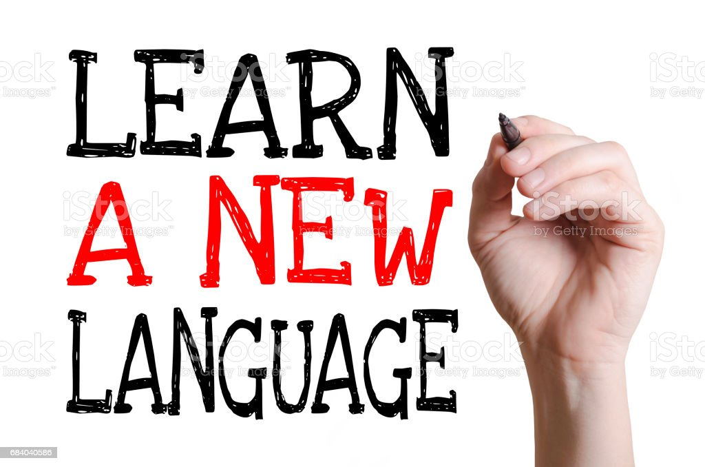 Learn a new language - Photo