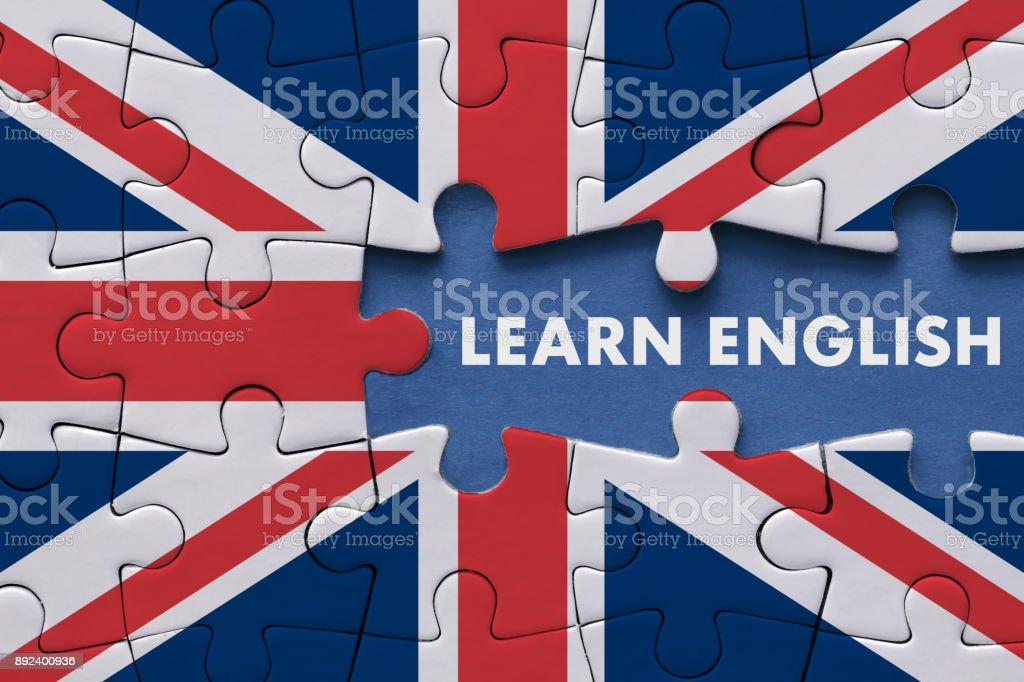 Apprendre l'anglais - Concept de l'éducation - Photo
