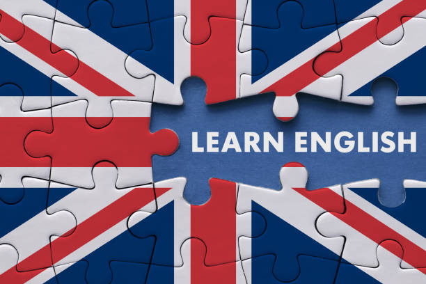 Learn English - Education Concept stock photo