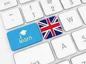 Learn English online language translate e-learning