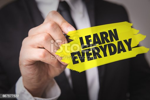 Learn Everyday sign