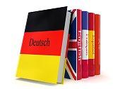 Learn German language book e-learning