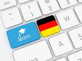 Learn German online language translate e-learning