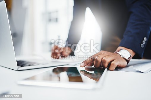 istock Learn how to multitask, things get really busy here 1132275581