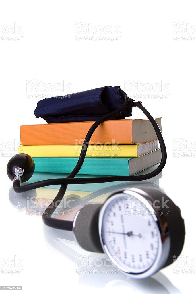 Learn medicine royalty-free stock photo